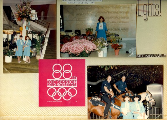 Olympics Annete Page