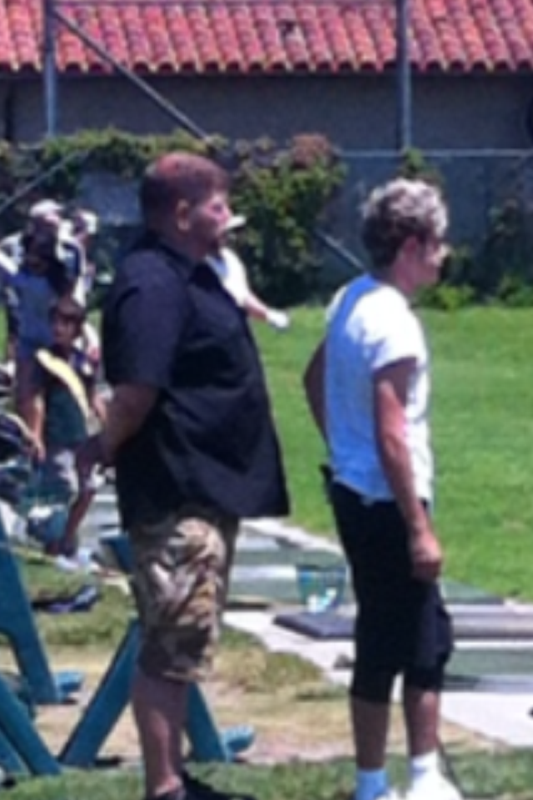 One Direction's Niall Horan at Coronado Municipal. Photo N. Spear