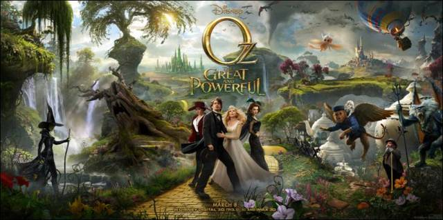 Oz Great and Powerful. Photo courtesy of Disney.
