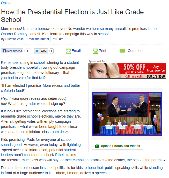 Patch Post: How the Presidential Election is Just Like ...