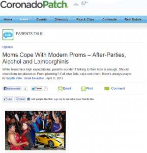 Patch Prom 2013 Article