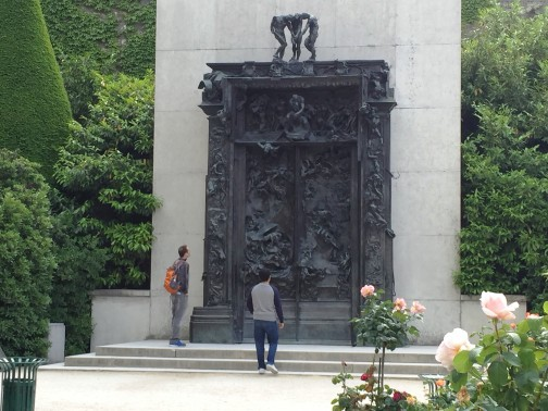 Dante's Gates of Hell. Rodin Museum in Paris. Photo by S. Valle