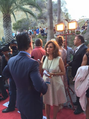 Roman Coppola on the Red Carpet at the Catalina Film Festival