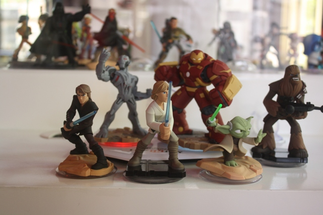Disney Infinity Star Wars Game Pieces at SDCC15