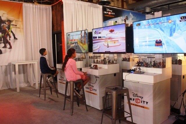 Disney Infinity Experience at SDCC15