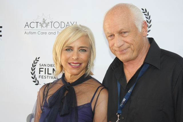 Joey Travolta at the San Diego Film Festival in 2012. Photo S. Valle
