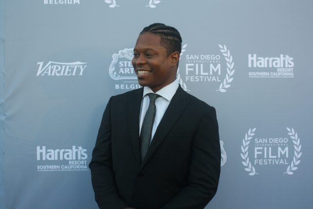 Jason Mitchell at SDFF 2016. Photo S. Valle
