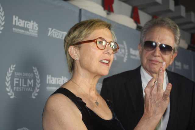 Annette Bening and Warren Beatty at the San Diego International Film Festival 2016