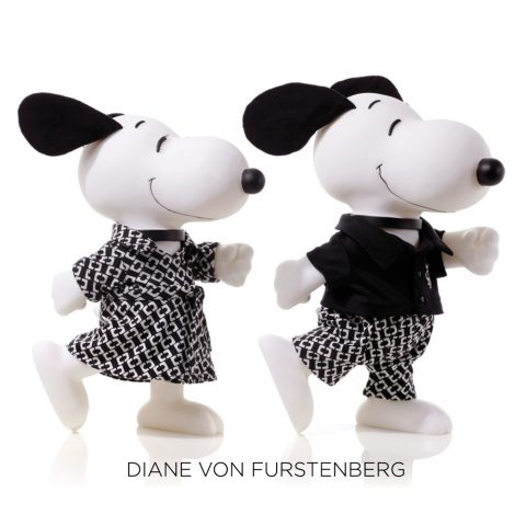 Snoopy and Belle DVF