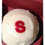 "The red ""S"" is for Sugar-Free Red Velvet."