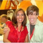 Steven Banks and Suzette Valle at Comic-Con