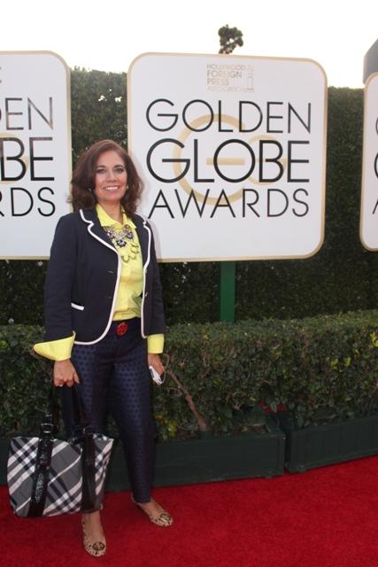 Suzette Valle Golden Globes
