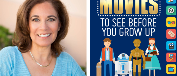 "Suzette Valle author of ""101 Movies To See Before You Grow Up."""
