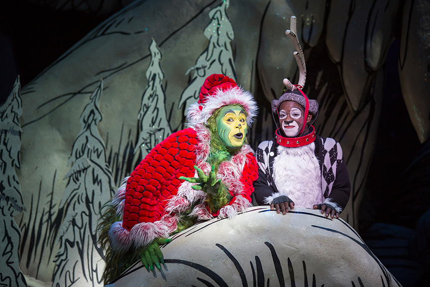 How The Grinch Stole Christmas' At The Old Globe November 10 ...