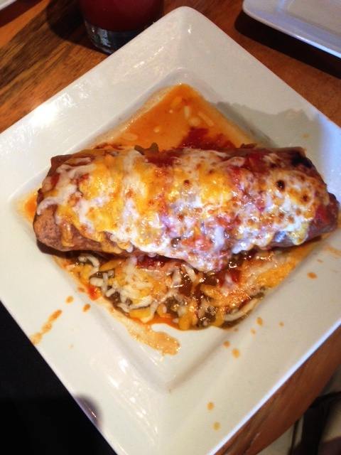 The Patio Smoked Pork Burrito