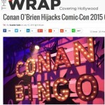 The Wrap Conan OBrien Comic-Con