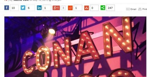 The Wrap Conan OBrien Comic-Con