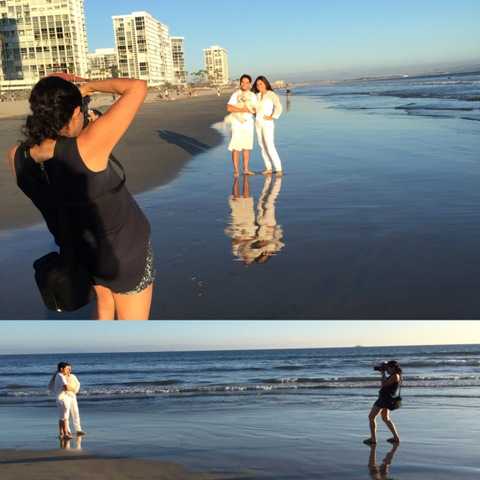 Togally photographer, or Tog, Evelyn Molina in action!