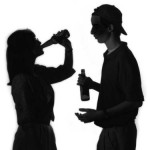 TEENS DRINKING