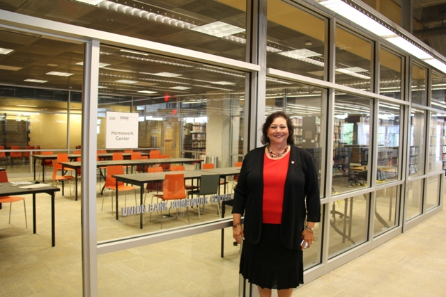 Marla Black, Senior VP and Regional Manager, at Union Bank helped with the project.