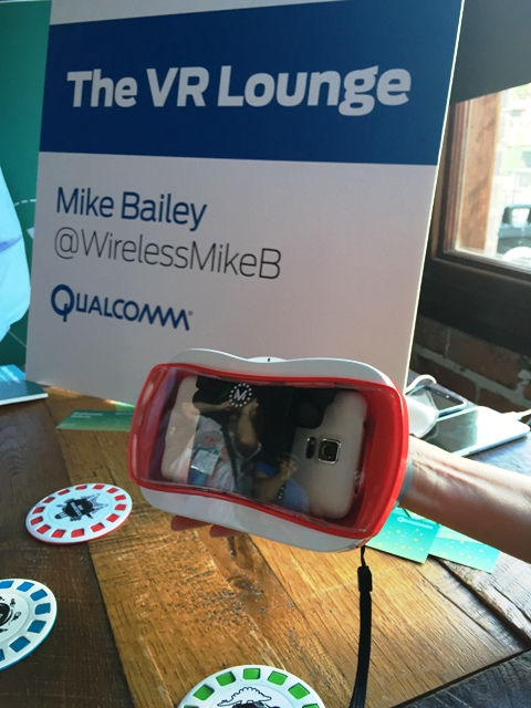 VR Lounge Vuforia at SDCC15