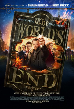 """The World's End"" opens in theaters August 23rd."