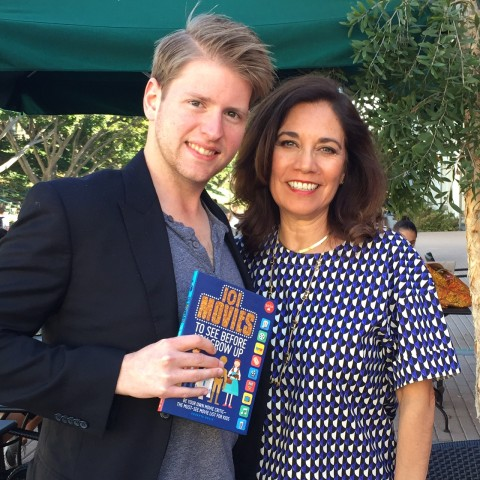 """Lance Summers, Zootopia's Environment Look Supervisor, in San Diego with """"101Movies"""" author Suzette Valle"""