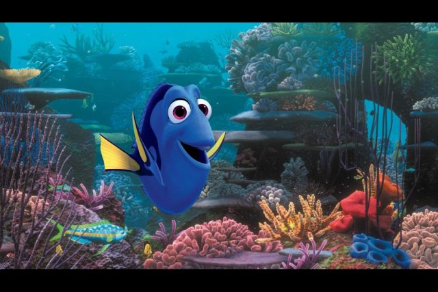 Finding Dory in theaters June 7, 2016.