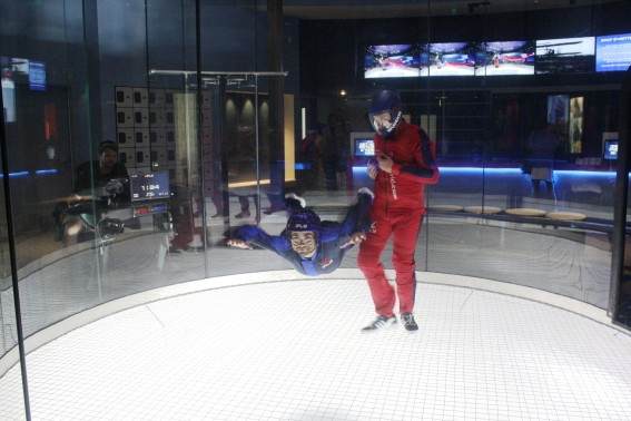 iFLY Alex Takes His First Flight