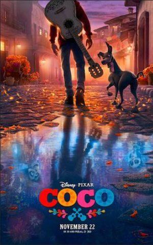 "Pixar ""Coco"" poster"