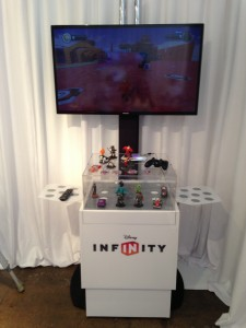 Disney Infinity Lounge at Comic-Con 2013