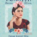 poster oficial FRIDA KAHLO VIVA LA VIDA COMPAÑíA TEATR3S