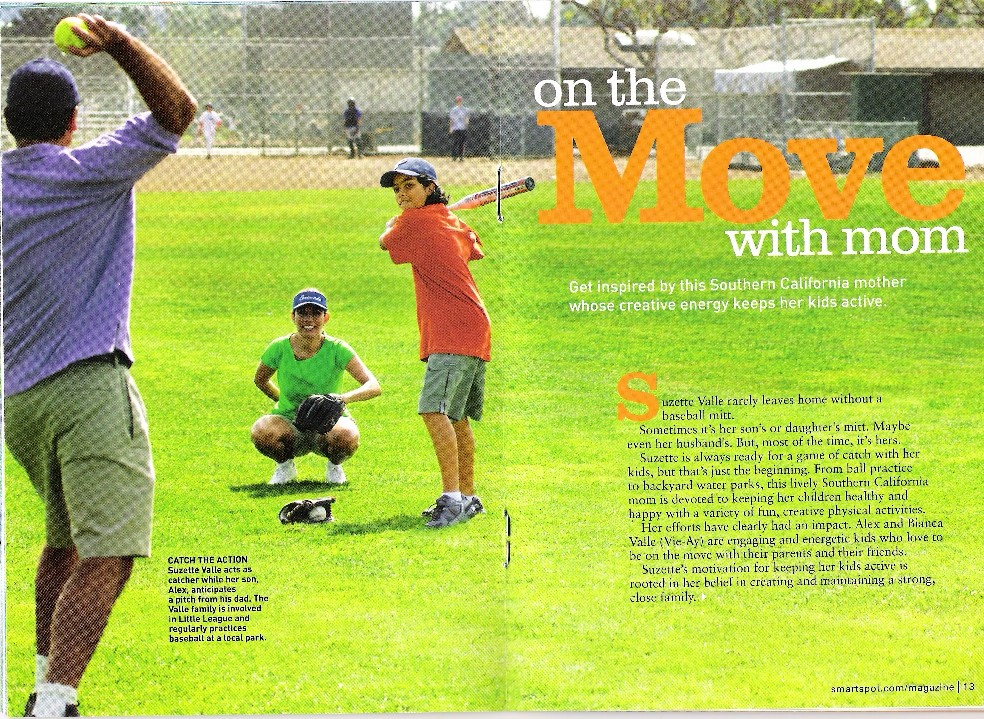 The Valle was featured in a PepsiCo magazine insert in Parenting Magazine.