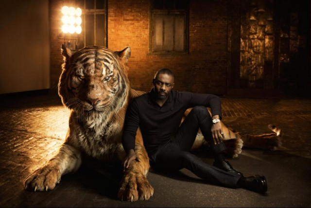 Idris Elba voices Shere Khan in The Jungle Book