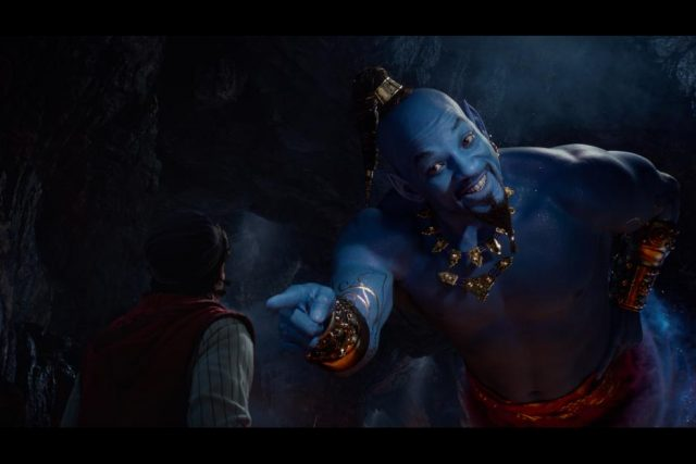 Aladdin Will Smith as Genie