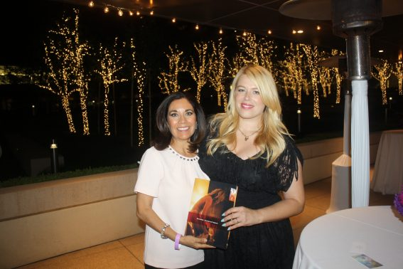 Amanda de Cadenet at the GirlGaze Exhibit