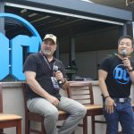 DC Entertainment's Dan Didio and Jim Lee at Comic-Con 2017.Photo S. Valle