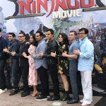 Lego Ninjago Movie Cast at Legoland, CA