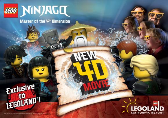 Legoland California Kicks Off 2018 With Lego Ninjago Master Of
