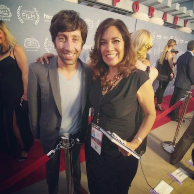 SDFF Simon Helberg and Suzette Valle 2016