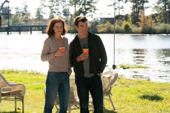Katie Holmes and Jerry O'Connell in The Secret Dare to Dream. Photo by Lionsgate Studios