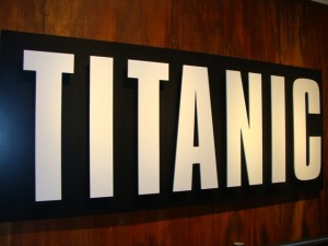 Titanic Exhibit in San Diego