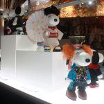 Snoopy and Belle in Fashion costumes by Colleen Atwood. Photo S. Valle