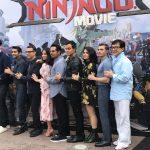 Lego Ninjago Movie Cast at Legoland, CA